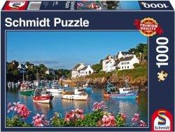 Puzzle 1000 Schmidt 58276 Łodzie - Lato na Wodzie
