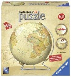 Puzzle 540 Ravensburger 124343 Kuliste - Zabytkowy Glob 3D
