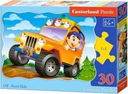 Puzzle 30 Castorland B-03631 Żółty Jeep