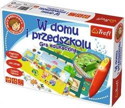 Gra Planszowa - Trefl - Mały Odkrywca - Magiczny Ołówek - W domu i Przedszkolu - 01360