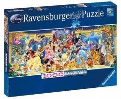 Puzzle 1000 Ravensburger 151097 Disney - Panoramiczne