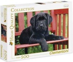 Puzzle 500 Clementoni 30346 Czarny Pies