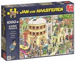 Puzzle 1000 Jumbo 19013 Jan van Haasteren - Ucieczka z Aresztu
