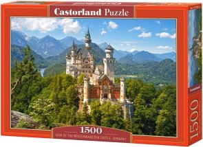 Puzzle 1500 Castorland C-151424 Viev of the Neuschwanstein Castle, Germany