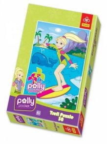 Puzzle 30 Trefl 18139 Polly Pocket - Polly na Desce Surfingowej