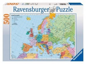 Puzzle 500 Ravensburger 144303 Mapa Polityczna Europy
