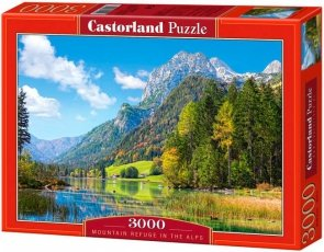 Puzzle 3000 Castorland C-300273 Mountain Refuge in the Alps