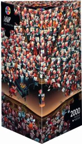 Puzzle 2000 Heye 8660 Jean Jacques Loup - Teile Orchestra