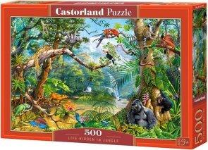 Puzzle 500 Castorland B-52776 Życie w Dżungli