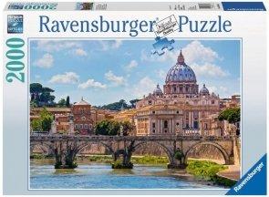 Puzzle 2000 Ravensburger 166862 Most Aniołów - Rzym