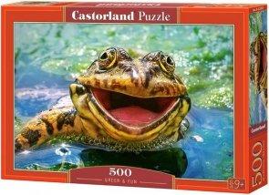 Puzzle 500 Castorland B-52813 Żaba