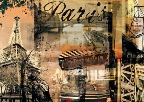 Puzzle 1000 Ravensburger 157297 Wspomnienia z Paryża