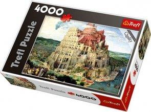 Puzzle 4000 Trefl 45001 Wieża Babel