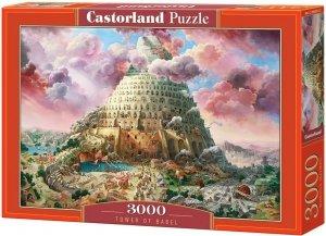 Puzzle 3000 Castorland C-300563 Wieża Babel