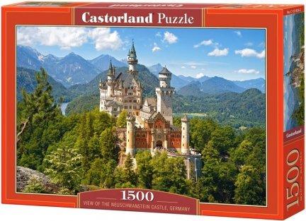 Puzzle 1500 Castorland C-151424 Viev of the Neuschwanstein Castle, Germany