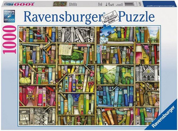 Puzzle 1000 Ravensburger 191376 Dziwaczna Księgarnia