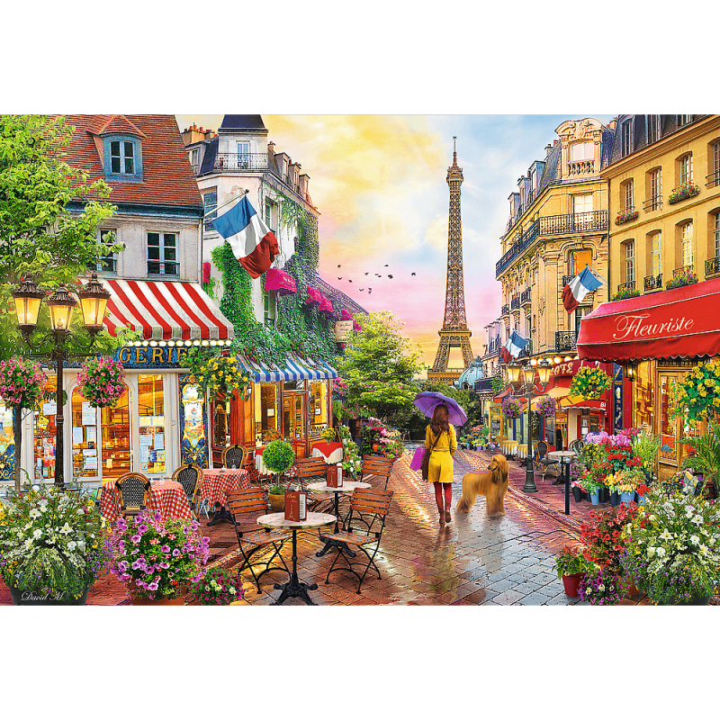 Puzzle 1500 Trefl 26156 Urok Paryża