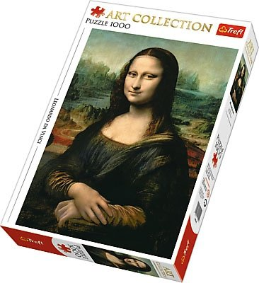 Puzzle 1000 Trefl 10542 Art Collection - Mona Lisa