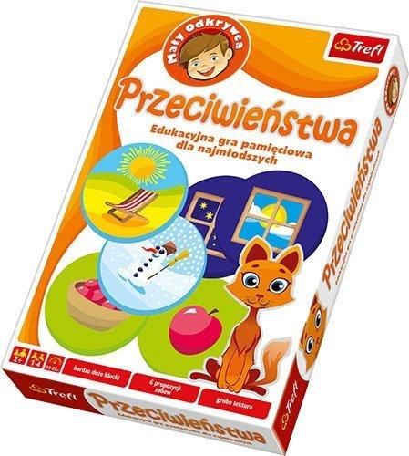Gra Edukacyjna - Trefl - Przeciwieństwa  T-01061