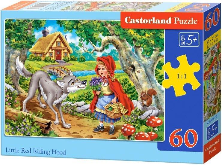 Puzzle 60 Castorland B-066117 Czerwony Kapturek