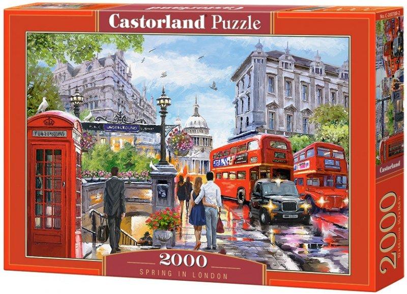 Puzzle 2000 Castorland C-200788 Londyn