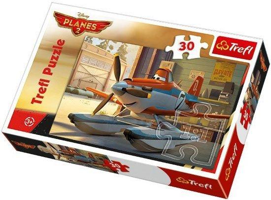 Puzzle 30 Trefl 18192 Samoloty - Dusty w Hangarze Planes 2