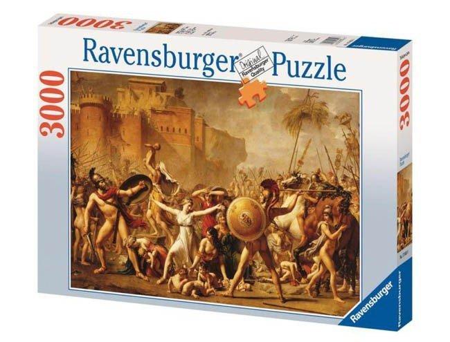 Puzzle 3000 Ravensburger 170319 Kobieta z Obrazu
