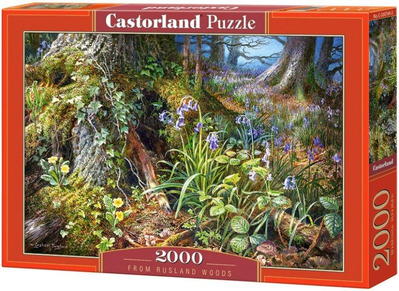 Puzzle 2000 Castorland C-200764 Leśne Nastroje