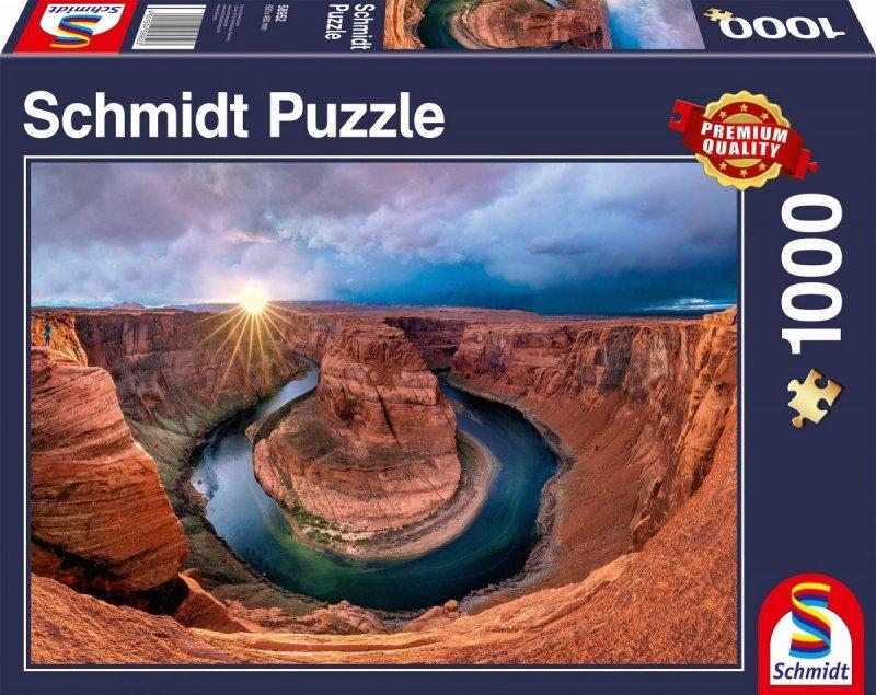 Puzzle 1000 Schmidt 58952 Kanion Glen - Rzeka Kolorado