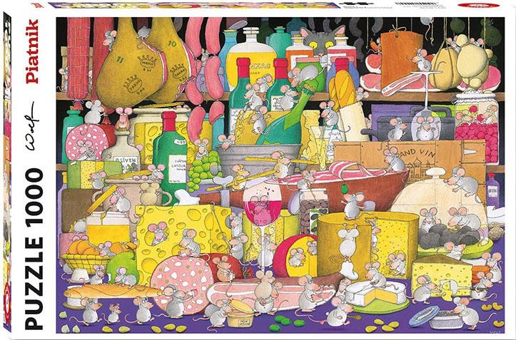 Puzzle 1000 Piatnik P-5499 Myszy Harcują