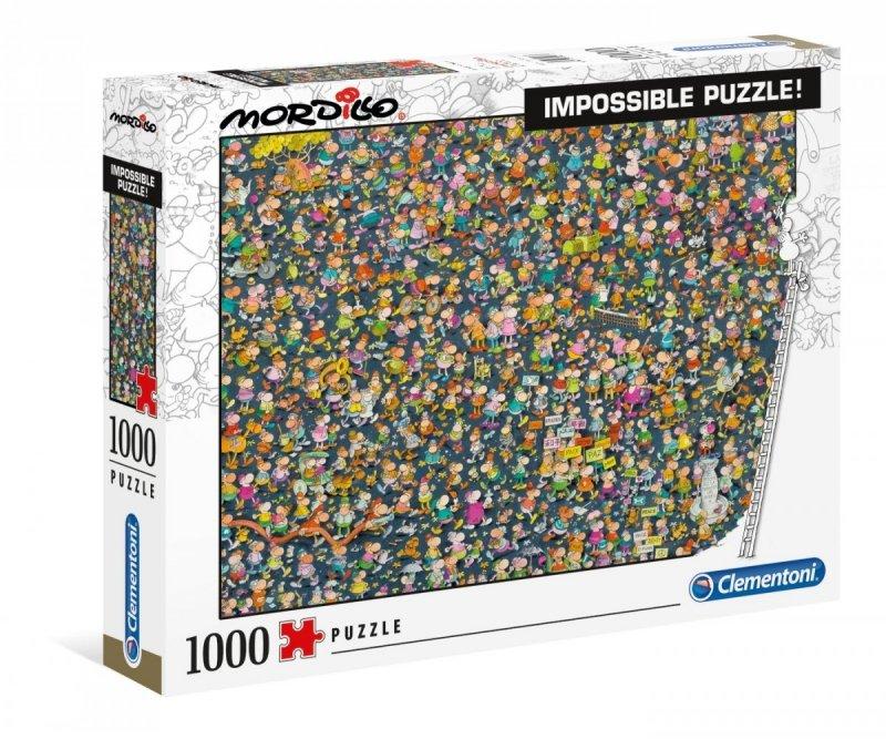 Puzzle 1000 Clementoni 39550 Mordillo Impossible