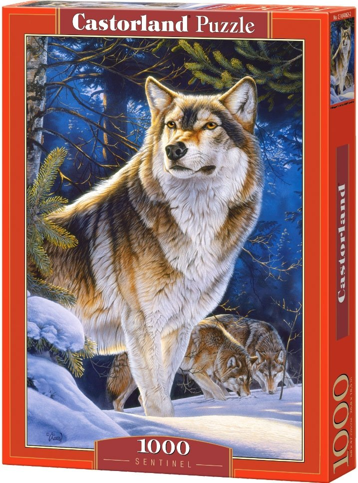 Puzzle 1000 Castorland 104062 Wilki