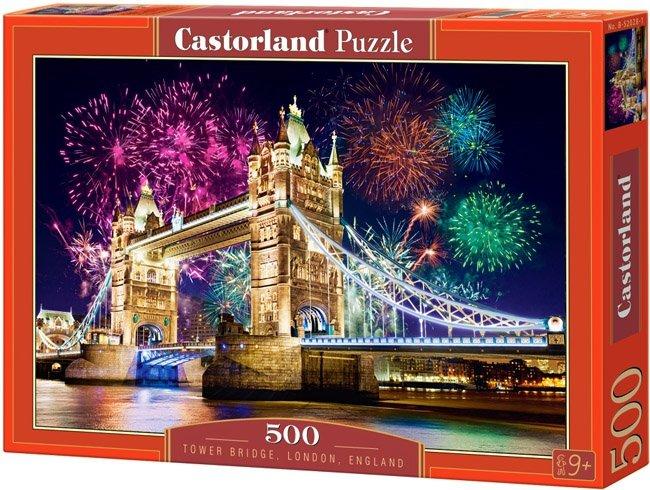 Puzzle 500 Castorland B-52592 Tower Bridge - England