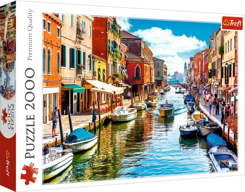 Puzzle 2000 Trefl 27110 Wenecja - Wyspa Murano