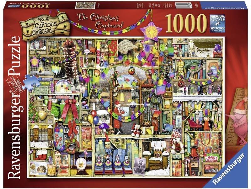 Puzzle 1000 Ravensburger 194681 Świąteczny Kredens