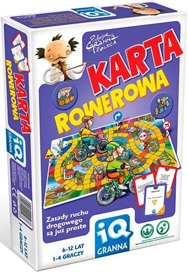 Gra Edukacyjna - Granna - Karta Rowerowa