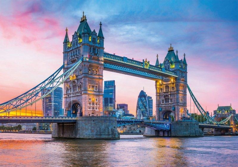 Puzzle 1500 Clementoni 31816 Most Tower Bridge - High Quality