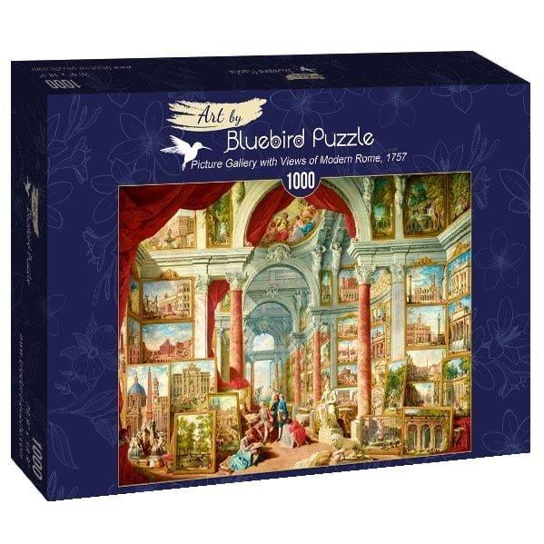 Puzzle 1000 Bluebird 60075 Panini - Galeria Obrazów z Widokami Współczesnego Rzymu - 1757