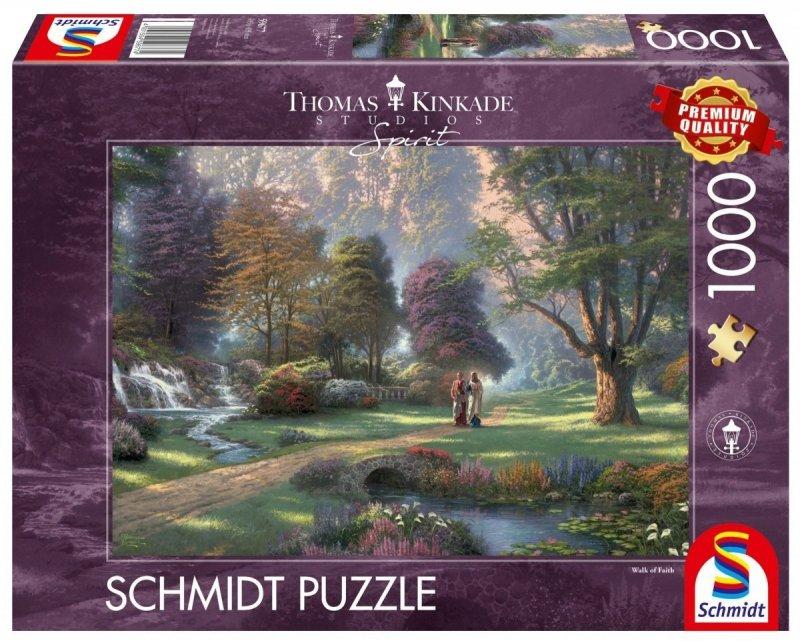 Puzzle 1000 Schmidt 59677 Thomas Kinkade - Podążaj Drogą Wiary