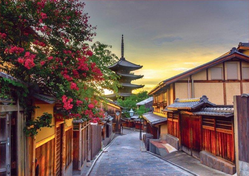 Puzzle 1000 Educa 17969 Pagoda Yasaka - Kyoto - Japonia