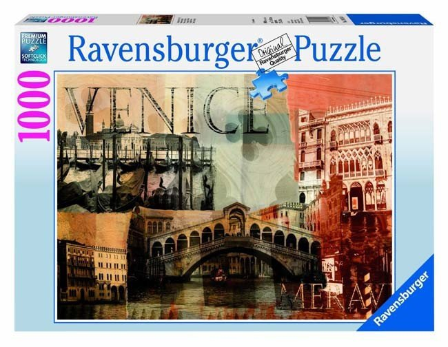 Puzzle 1000 Ravensburger 192588 Wenecja