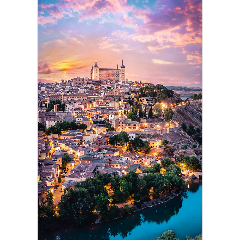 Puzzle 1500 Trefl 26146 Hiszpania - Toledo