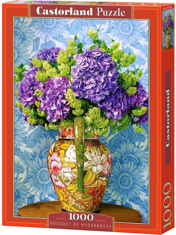 Puzzle 1000 Castorland 104352 Bukiet Hortensji