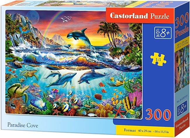 Puzzle 300 Castorland B-030101 Życie w Oceanie - Paradise Cove