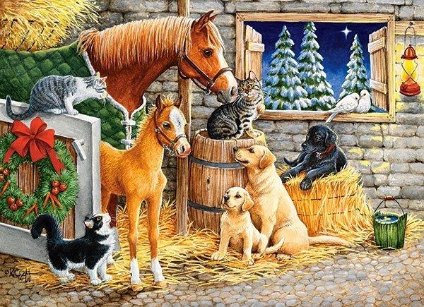Puzzle 300 Castorland B-030255 Zwierzęta - Zbieranie Przyjaciół