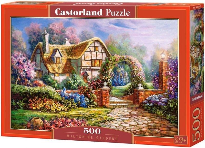 Puzzle 500 Castorland B-53032 Domek - Ogrody Wiltshire