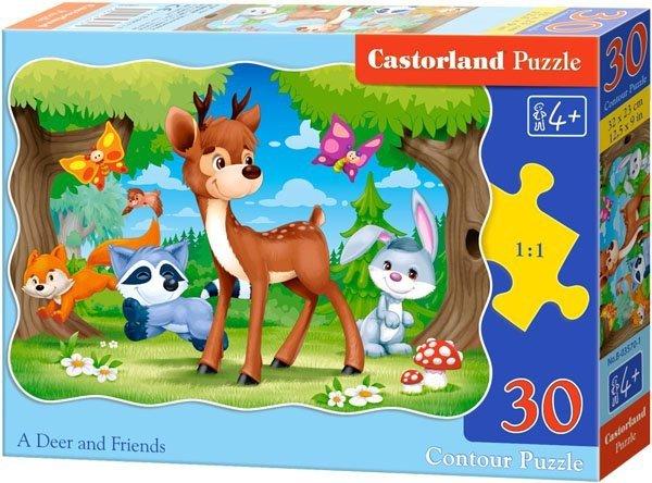 Puzzle 30 Castorland B-03570 Jelonek i Przyjaciele