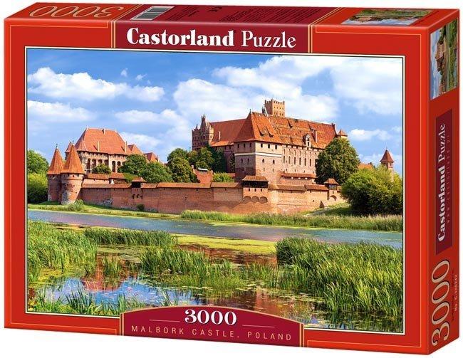 Puzzle 3000 Castorland C-300211 Malbork Castle, Poland