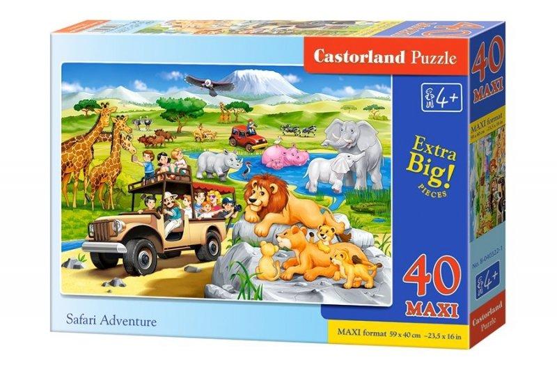 Puzzle 40 Maxi Castorland B-040322 Safari