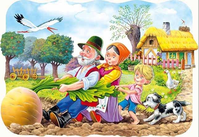 Puzzle 30 Castorland B-03242 Rzepka - Big Turnip